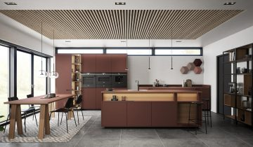 Heritage Collection in the new S19 collection of the Danish kitchen chain Svane Køkkenet.